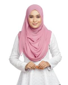 Plain semi instant shawl PS06