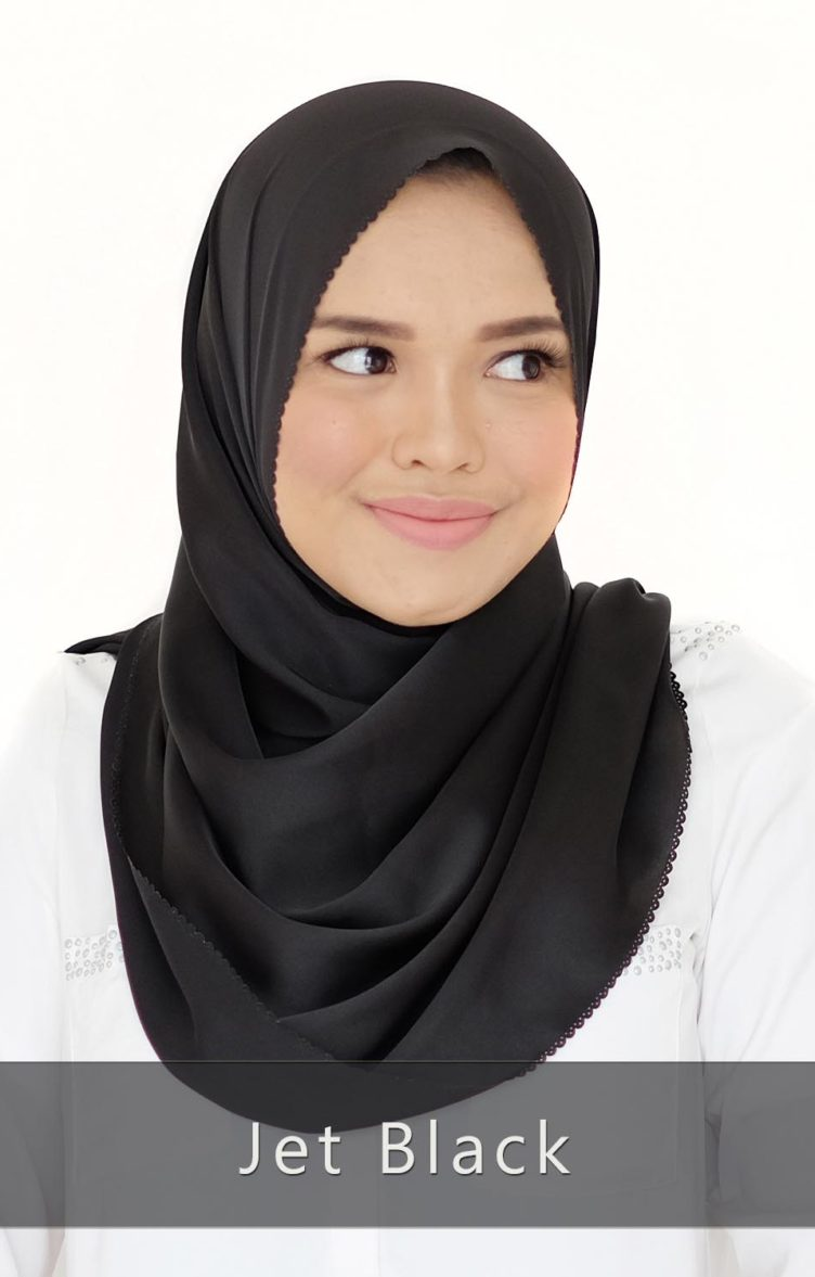 Alma Shawl 2.0 jet black