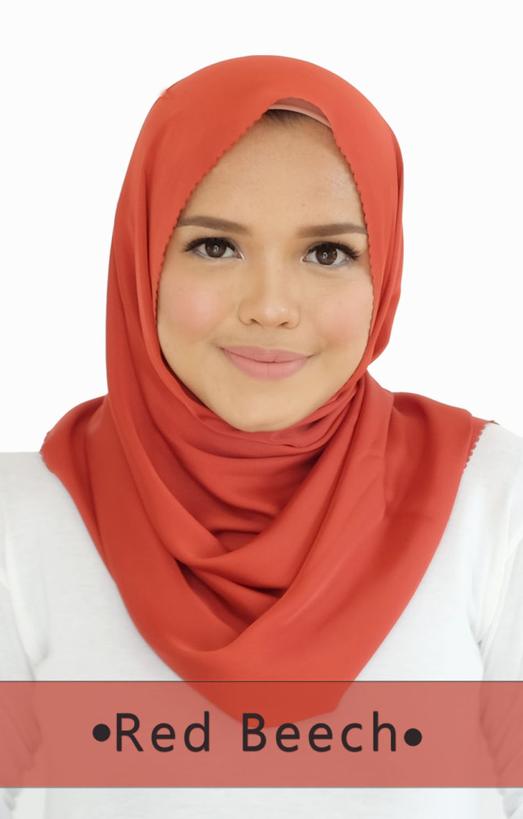 ALMA SHAWL Red Beech
