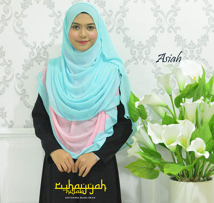 zigzag plain shawl asiah